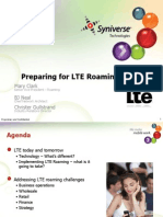 LTE Roaming BARG Workshop