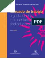 Arrieta, Mercado de Trabajo y Sindicalizacion
