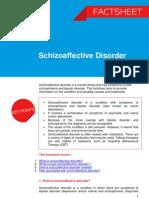 Schizoaffective Disorder Factsheet