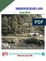 Manual of Mini-hydropower Design Aids