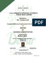 Dabur Performance Appraisal at Dabur India