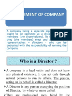 (i) Management of Companies Director