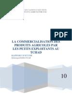 LA COMMERCIALISATION DES PRODUITS AGRICOLES PAR LES PETITS EXPLOITANTS AU TCHAD