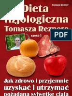 darmowy ebook Dieta Fizjologiczna Tomasza Reznera
