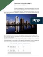 Brasil Tem o Metro Quadrado Mais Barato Entre Os BRICS