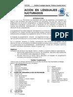 Programacion en Lenguajes estructurados 4º - Infor.
