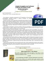 Boletim Eletrônico Comunidade Passo Fundo maio 2013