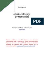 darmowy ebook Jak Pisac i Tworzyc Prezentacje