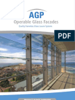 AGP Operable Glass Louvres - Product Range Overview