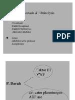 HAEMOSTASIS & Fibrinolisis