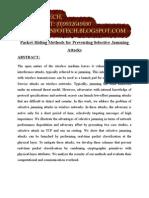 Packet Hidingmethodsforpreventingselectivejammingattacks 01 (1)