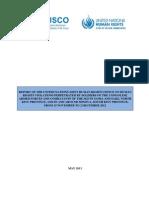 UNJHRO - HRVs Goma and Minova - May 2013