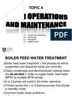 Topic 4 - Boiler Operations & Maintenance (New Update)