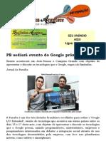 PB sediará evento do Google próxima semana