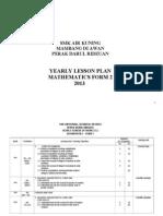 F2 Maths Annual Scheme of Work_2011