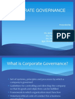Corporate Governance1