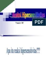 Askep Hipersensitivitas