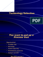 Technology Selection 25012006