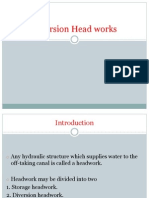Diversion Head Works