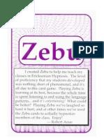 Zebu_The Hypn Language Card Game FlashCards
