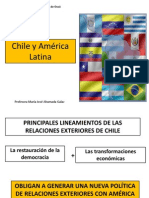 Chile y América Latina