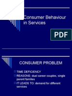 Consumer Behaviour in Services