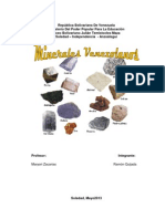 minerales venezolanos