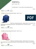 Catálogo de maletines de portátil
