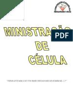 MINISTRAÇÃO DE CÉLULA APOSTILA