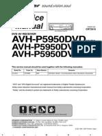 Pioneer Avh-p5950dvd Crt3916