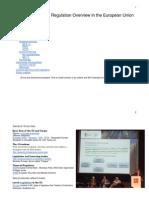 EU Regulation Update 2013 FPA Monaco
