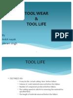 tool life & tool wear ppt by Ankit & Vikram