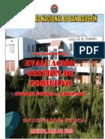 Evaluacion Gestion de Gobierno Marzo 2009