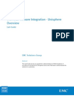 vLab VNX With VMware Integration - Lab01 Unisphere Overview