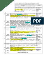 Cronograma Actividades (diseño tecnologico Instruccional 2 ) 2-2013