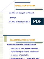 Classification of Riba.