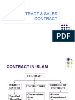 Contract & Sales Contract.