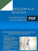 Introduccion a La Acustica