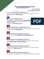 Tweets Durante CharlaBeatrizMarcano en Jornadas @Mujeresyvideojuegos UCM