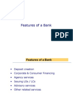 Features of an Islamic Bank.