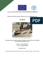 DIVISION DES OPÉRATIONS D'URGENCE ET DE LA RÉHABILITATION  TCHAD « Intervention d'urgence pour la prévention, la détection précoce et la lutte contre l'influenza aviaire hautement pathogène au Tchad »