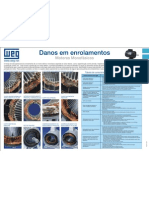 WEG Danos Em Enrolamentos Motores Monofasicos Wmo03 Guia de Instalacao Portugues Br