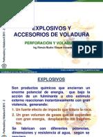 4. Explosivos y Accesorios de Voladura