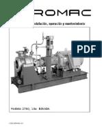 Manual de instalación, opeeración y mantenimiento. HIDROMAC S.A.