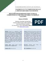 Armonizarea Politicii Fiscale Europene