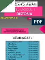 Modul Pbl 1 Repro Distosia
