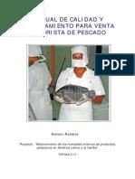 MANUAL DE CALIDAD Y PROCESAMIENTO PARA VENTA MINORISTA DE PESCADO