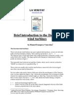 Introduction Darrieus Wind Turbines