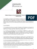 Edital Doutorado Ppge Ufrj2013