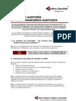BOLETIN-AUDITORIA CORDERO Y ASOCIADOS